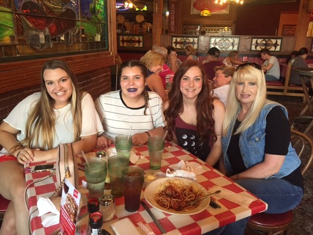 Dinner at Spaghetti Warehouse