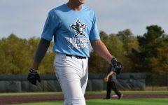 Ben Beland during baseball practice.