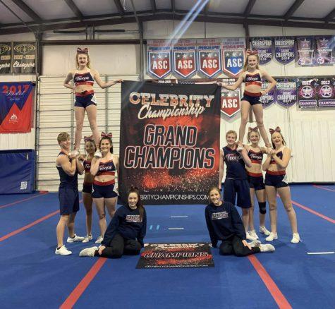 All-Star Cheerleader Wins Grand Champion